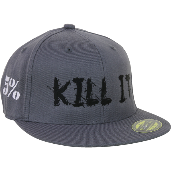 Love It Kill It, Grey Hat with Black Lettering