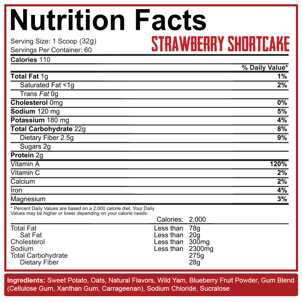 Real Carbs Complex Carbohydrates – Rich Piana 5% Nutrition
