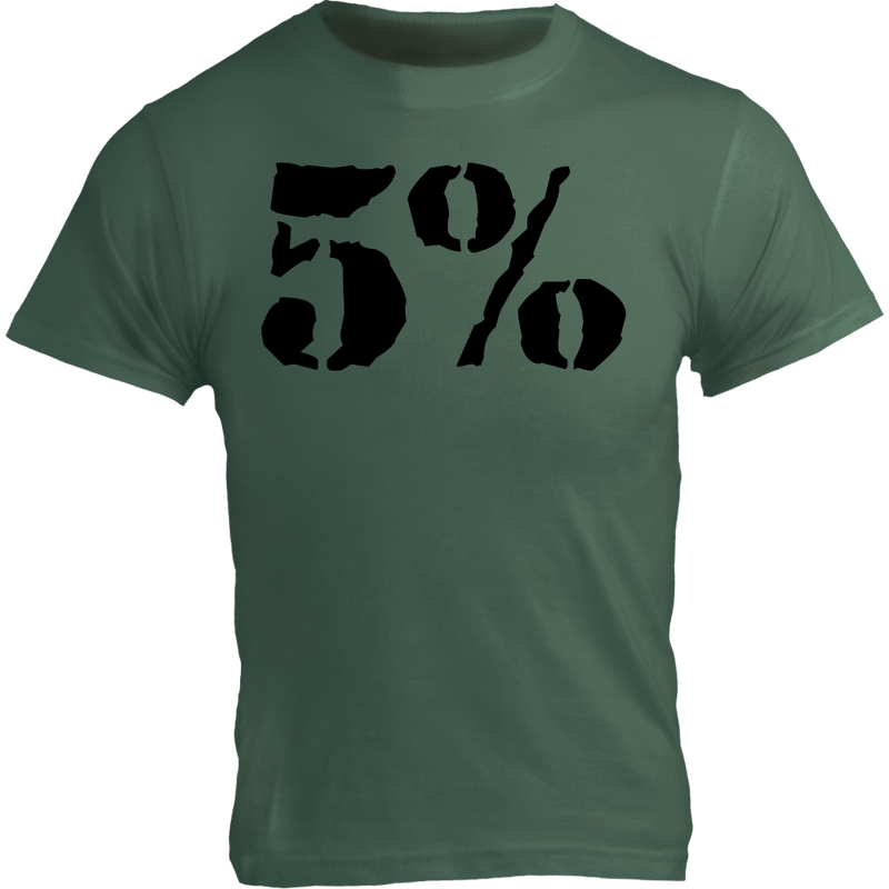 Veteran's Day, Military Green T-Shirt with Black Graphic
