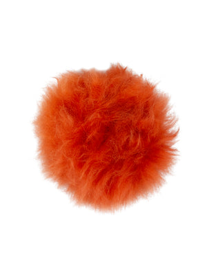 Interchangeable Pom Pom Orange
