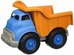 Dump Truck - Blue and Orange