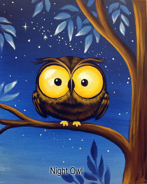 Night Owl Painting Party Ticket