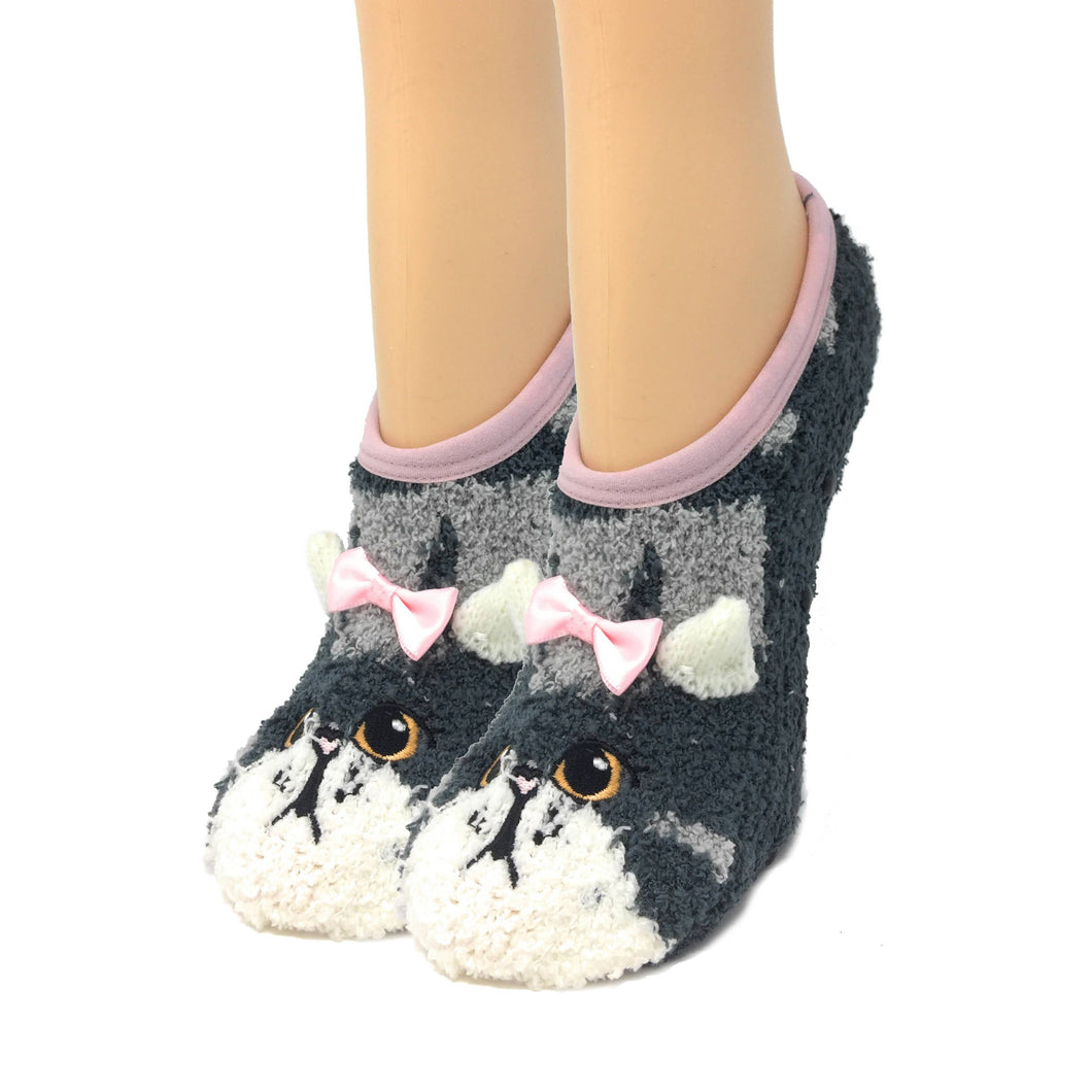 Here Kitty Kitty - Women's Slippers