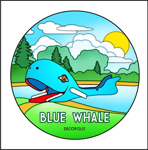 Large Magnet Blue Whale