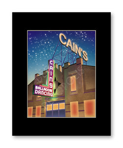 Cain's Ballroom - Matted Print