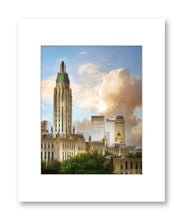 Matted Print 11x14 Downtown Tulsa