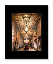 Matted Print 11x14 Philtower Lobby 1
