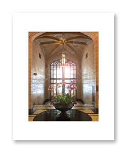 Matted Print 11x14 Philtower Lobby 2