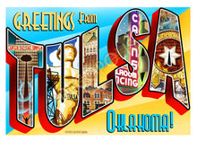Decopolis Postcard - Tulsa Greetings