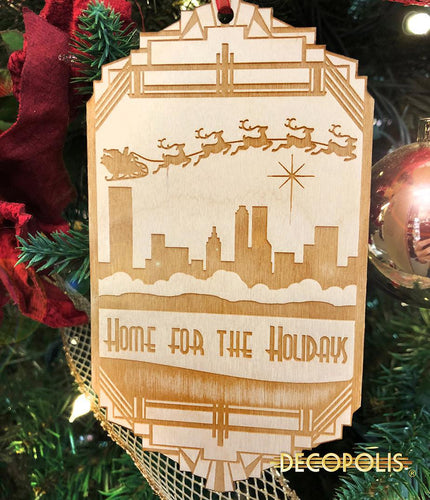 WOHH Wood Ornament Home for the Holidays
