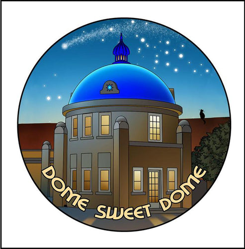 Large Magnet Blue Dome