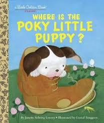 Where is the Poky Little Puppy (LGB)