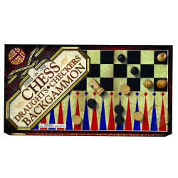Chess, Checkers, and Backgammon