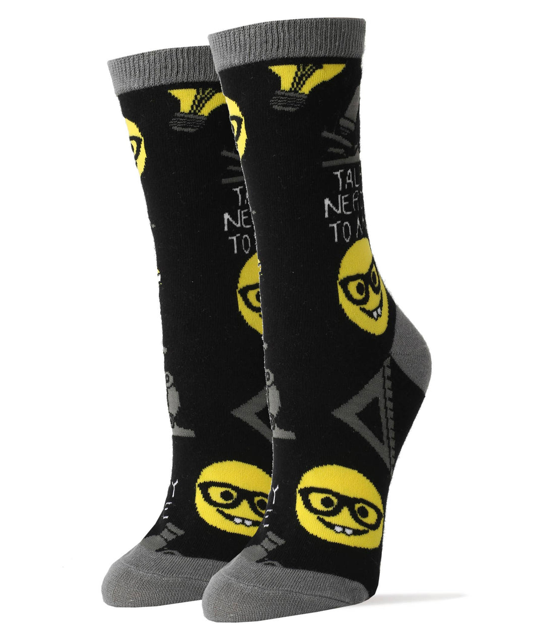 Talk Nerdy To Me - Women's Socks