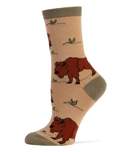 Buffalo - Women Crew Socks