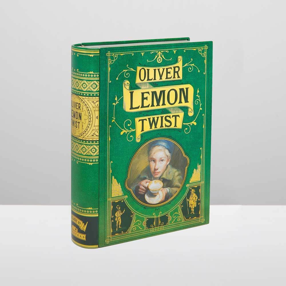 Oliver Lemon Twist - Book-shaped Tea Tin