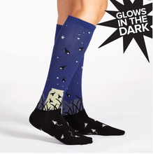 Knee High Funky: Nightlight Socks