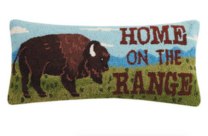 "Home on the Range DECOPOLIS Pillow 12""x 26"""