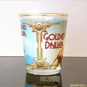 Golden Driller Shot Glass