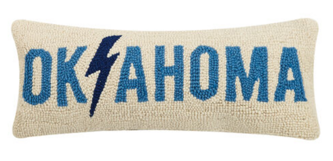 Oklahoma Lighting Pillow