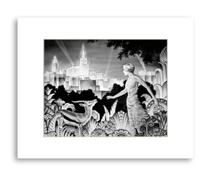 Spirit of Tulsa - Matted Print