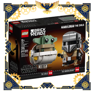 Lego Star Wars The Mandalorian and the Child