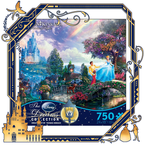 Cinderella Wishes 750 Piece Puzzle