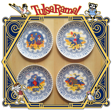 "Western ""Paper"" Plate Set"