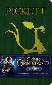 Fantastic Beasts:  Crimes of Gryndelwald:  Pickett Pocket Journal