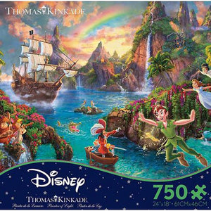 Peter Pan Disney 750 Piece Puzzle
