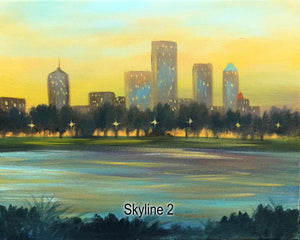 Skyline Painting Party