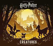 Harry Potter Creatures Paper Scene Book