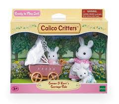Calico Critters Connor N Kerri Carriage