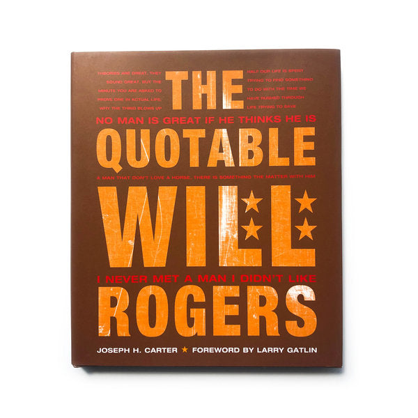 The Quotable Will Rogers HC