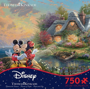 Mickey & Minnie Street Disney 750 Piece Puzzle