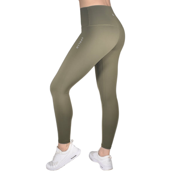 IRIS LEGGINGS - OLIVE GREEN