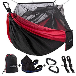Sgl & Dbl Hammock with Mosquito/Bug Net