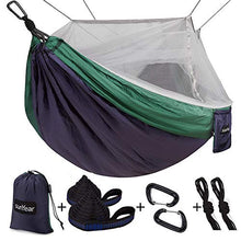 Load image into Gallery viewer, Sgl & Dbl Hammock with Mosquito/Bug Net