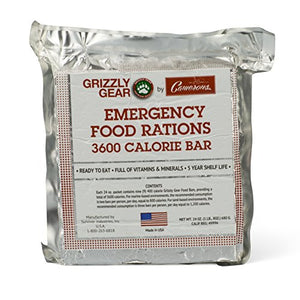 Grizzly Gear Emergency Food