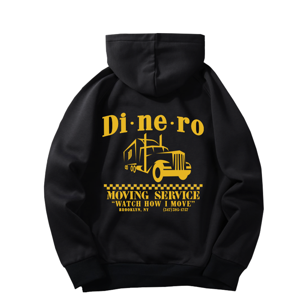 """How I Move"" Trucking Hoodie"