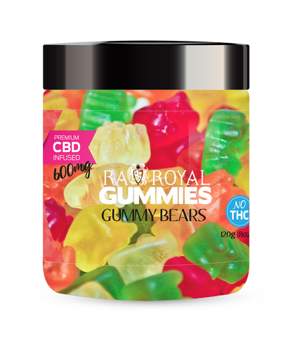RA Royal CBD Infused Gummy Bears