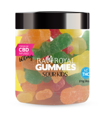 RA Royal Blend CBD Sour Kids Gummies (~5mg/gummy)