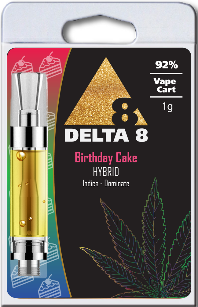 delta 8 vape cart birthday cake