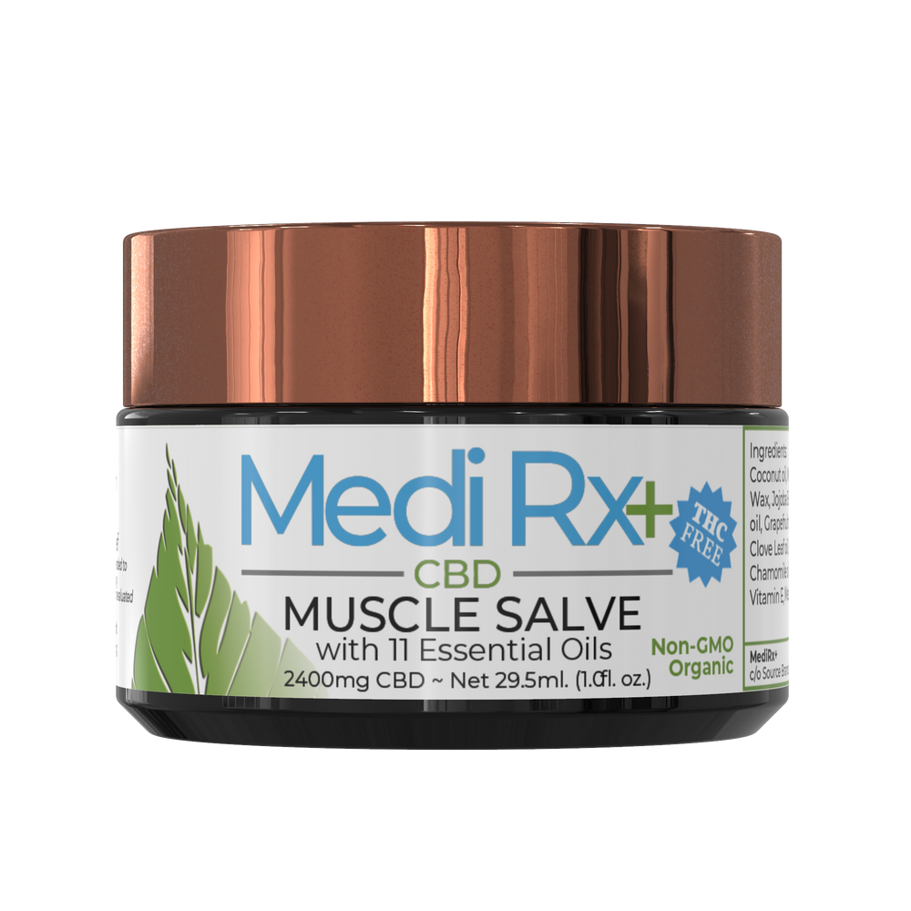 MEDIRX+  Muscle Salve - 2400mg plus 12 Essential Oils