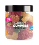 RA Royal Blend CBD Sour Bear Gummies (~10mg/gummy)