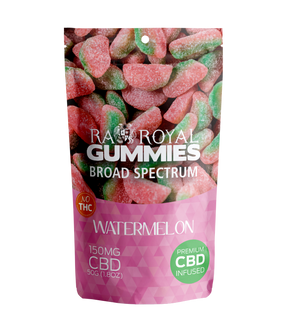 RA Royal CBD Broad Spectrum Gummies Watermelon