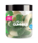RA Royal CBD Apple Ring Gummies (~25mg/gummy)