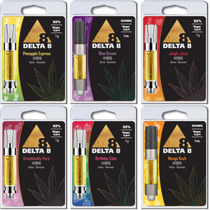 Save 20% on Bundle: 6 Hemp Derived Delta-8 THC Vape Carts