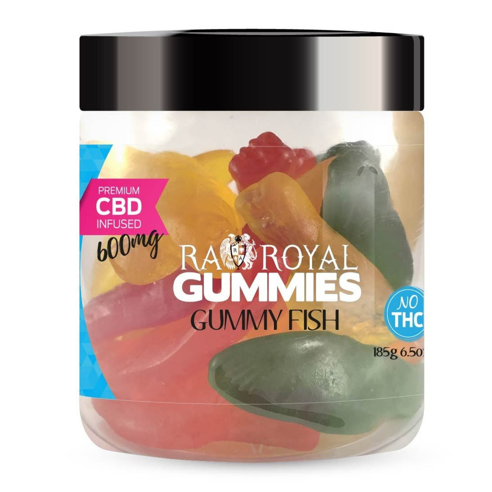 RA Royal CBD Gummy Fish Gummies (~20mg/gummy)