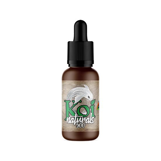 Koi Naturals CBD Oil - Spearmint – 250mg/500mg/1000mg of CBD (Full-Spectrum - No THC)